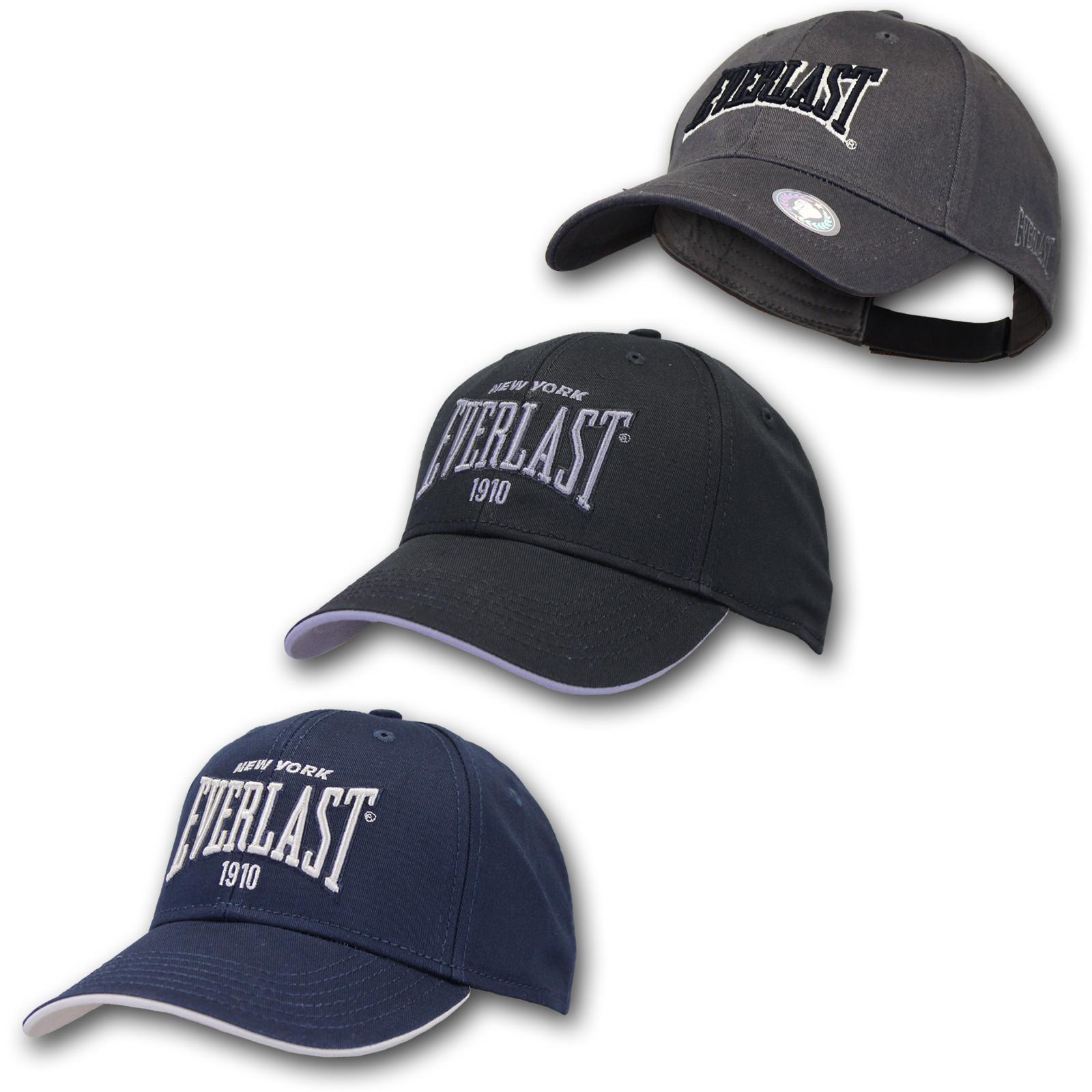 Everlast Herren Logo Baseball Cap Kappe Mütze Basecap Hut Snapback