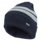 Preview: LONSDALE London Turn Up Hat Beanie Dunkelblau