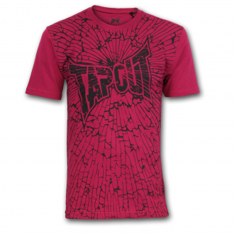 TAPOUT Core T-Shirt Pink Modell 3
